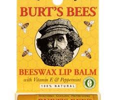 Burt's Bees Beeswax Lip Balm {Products I LOVE}