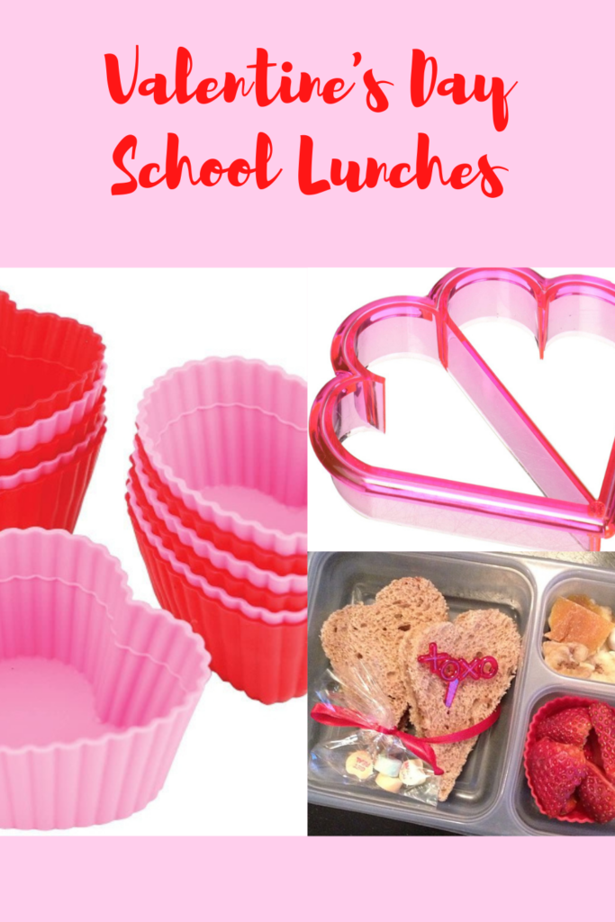 Valentine's Day School Lunches