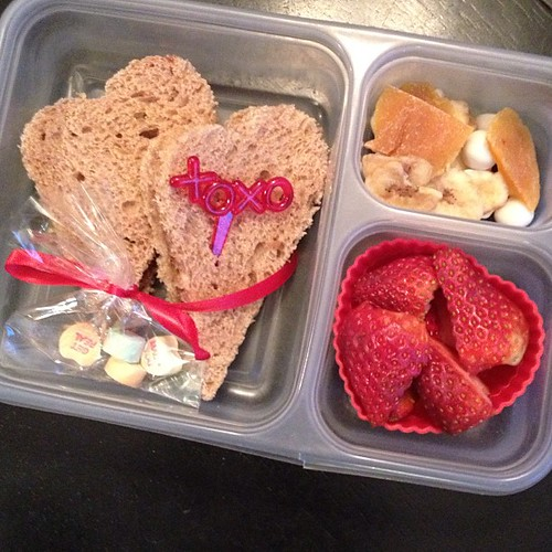 Valentine's Day school bento lunches