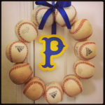 Baseball Wreath { i made it! }