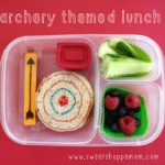 Archery Themed Lunch for Sports Camp