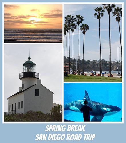 San Diego Spring Break Road Trip – (part 1 of 3)