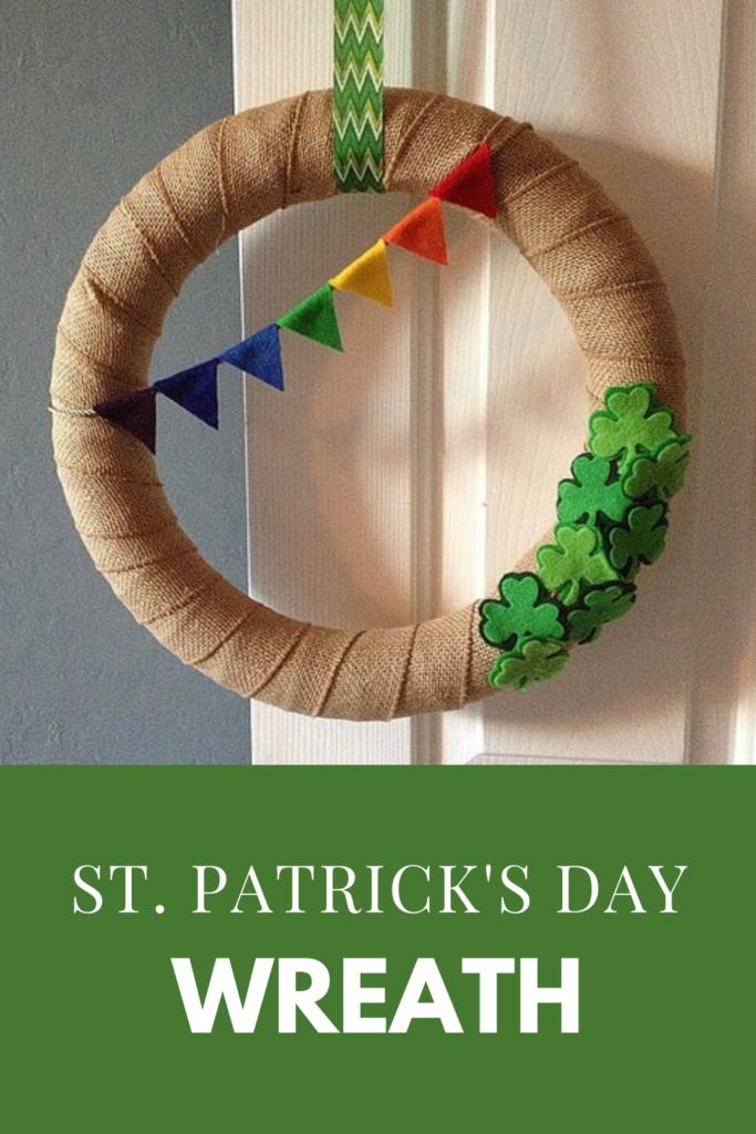 St. Patrick's Day Wreath DIY