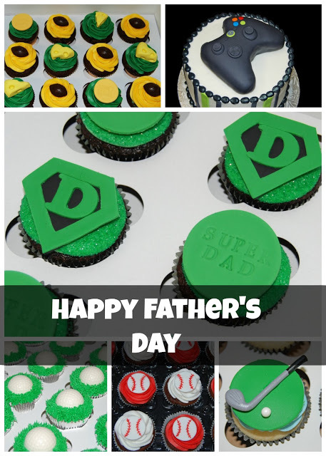 Father's Day Cake and Cupcake Designs