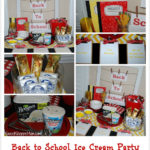 Celebrate Back to School with an Ice Cream Party
