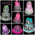 Zebra Print Cakes