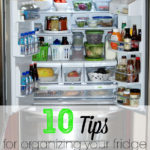 10 Tips For Organizing Your Fridge For a Healthy Lifestyle
