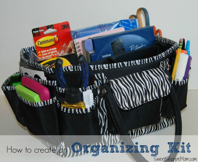 How to Create an Organizing Kit