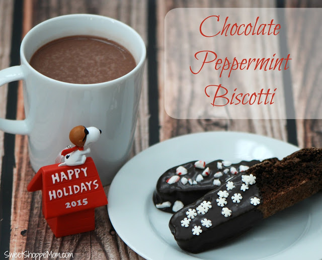Tis the Season for Chocolate Peppermint Biscotti