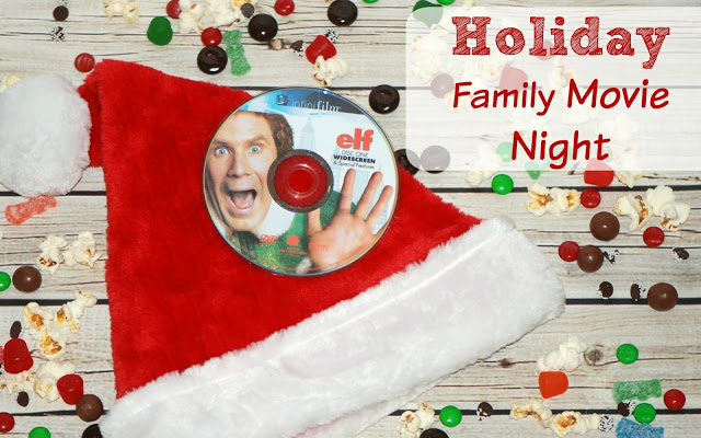 Holiday Family Movie Night Snack Buffet { tutorial + tip }