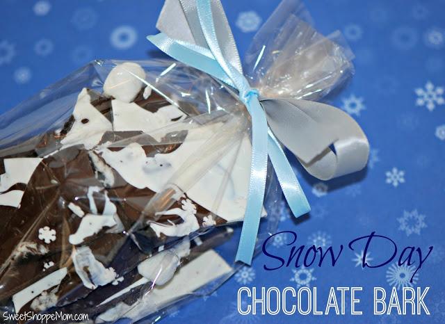 Snow Day Chocolate Bark