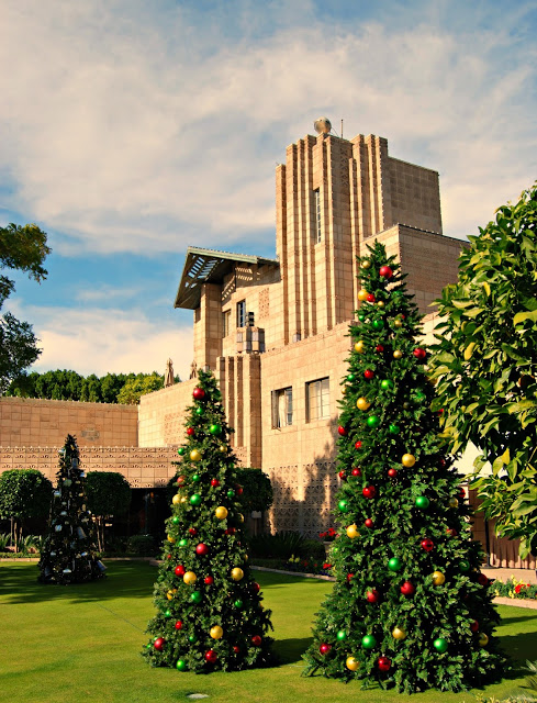 Arizona Biltmore during the Holidays { #myphx }