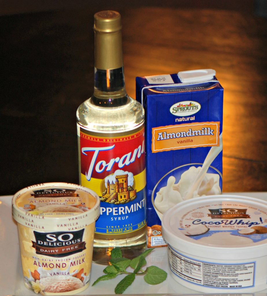 Dairyfree Shamrock Shake Ingredients