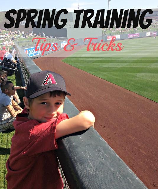 Spring Training Tips & Tricks