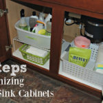 Simple Steps for an Organized Under Sink Kitchen Cabinet