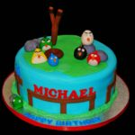Angry Birds Birthday Cakes
