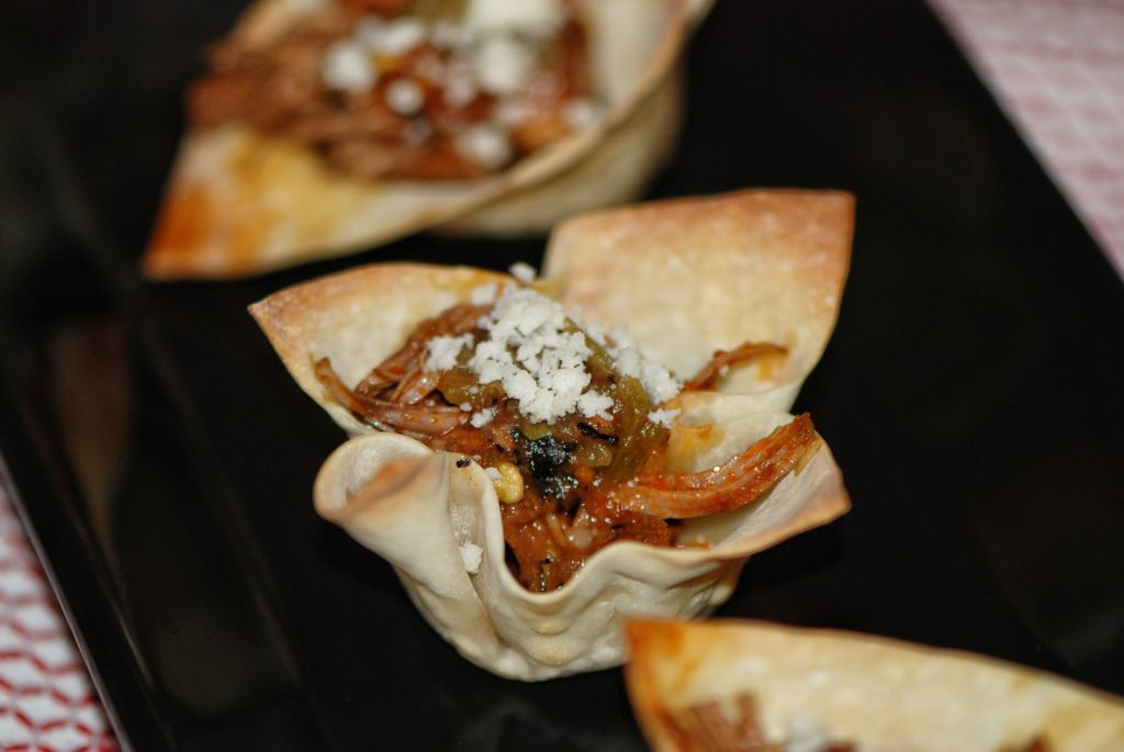 Bacon Barbacoa Cups – the perfect Big Game Appetizer