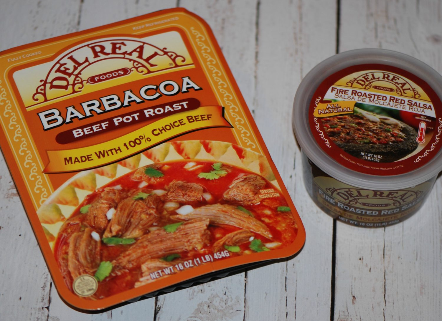 Del Real Barbacoa and Salsa