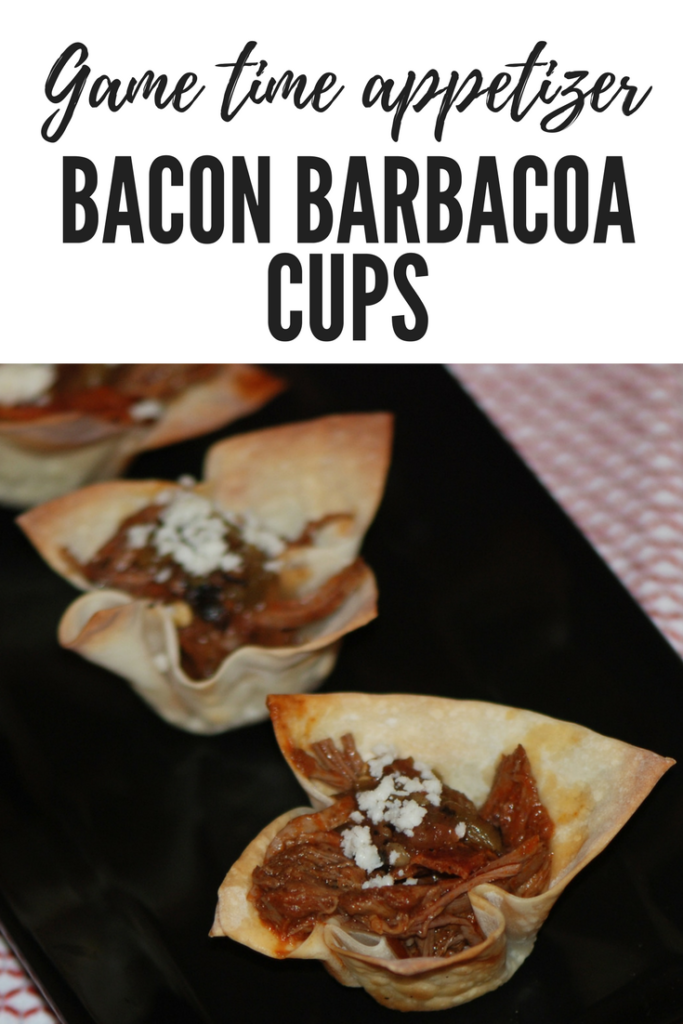 Bacon Barbacoa Game time appetizer