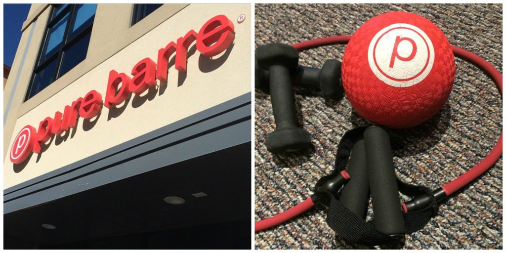 Pure Barre exercise program