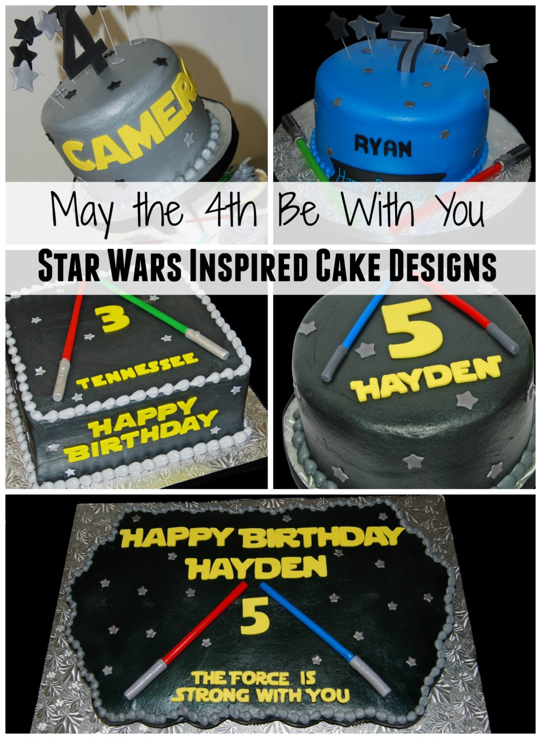 Remarkable May The 4Th Be With You Star Wars Inspired Cake Designs Sweet Funny Birthday Cards Online Eattedamsfinfo