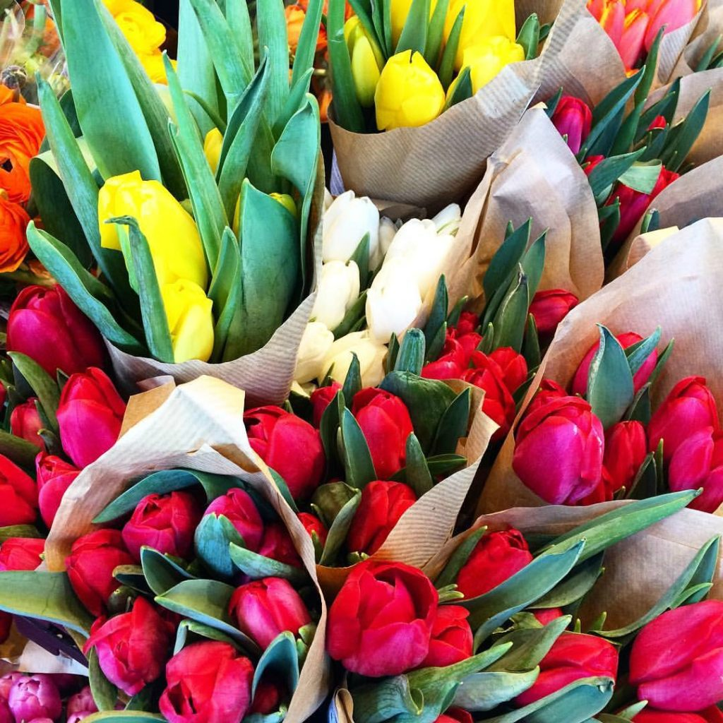 buy fresh flowers for yourself