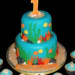 Under the Sea Themed Cake Ideas for a Finding Dory themed Birthday Party