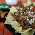 Bacon Barbacoa Nachos
