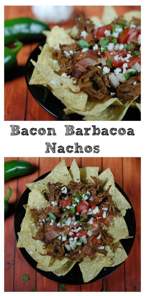 Bacon Barbacoa Beef Nachos