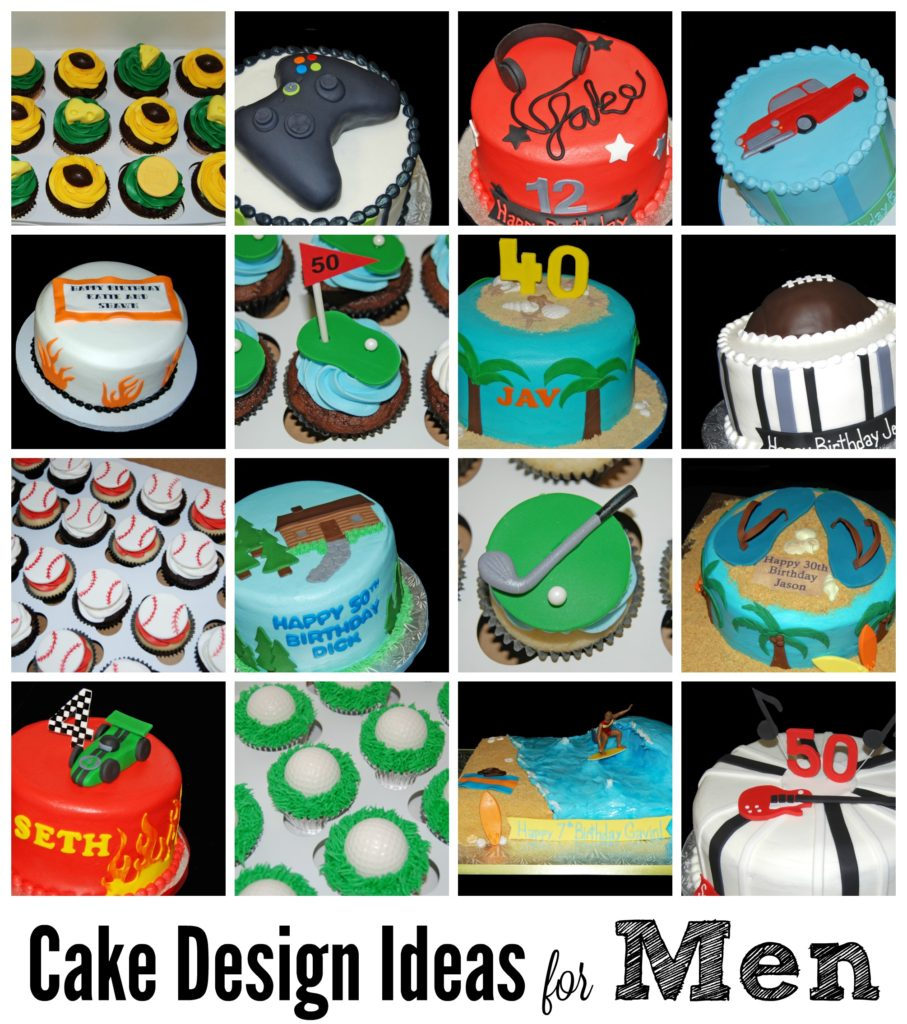Cake Design For Men : Cake Design Ideas for Men - Sweet Shoppe Mom