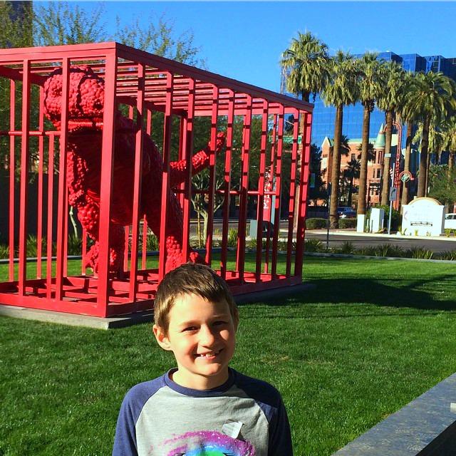 Phoenix Art Museum dinosaur