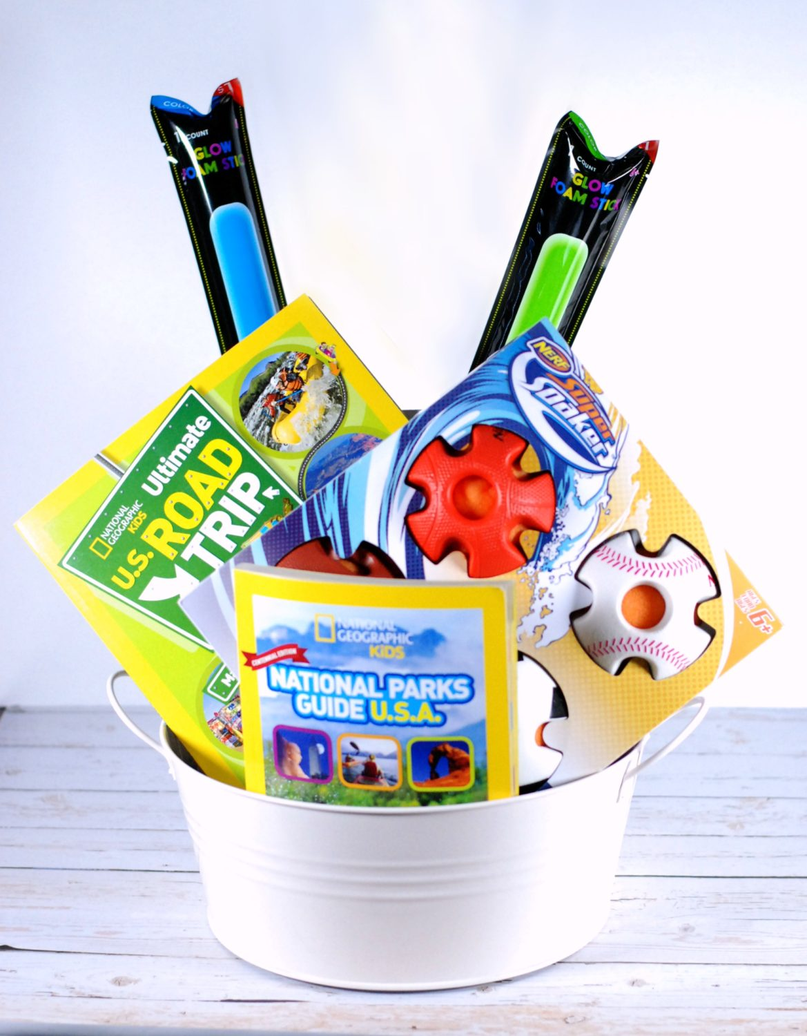 Summer Bucket List Gift Basket