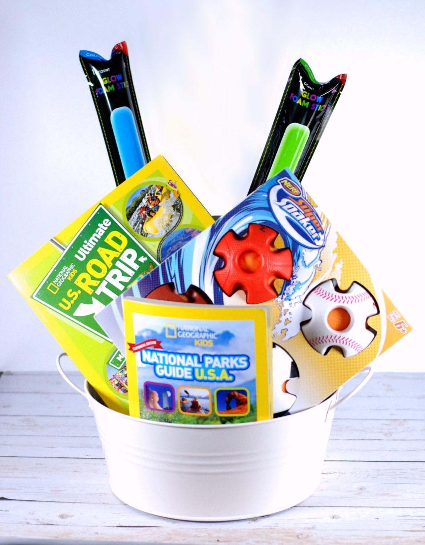 Summer Bucket List Gift Basket