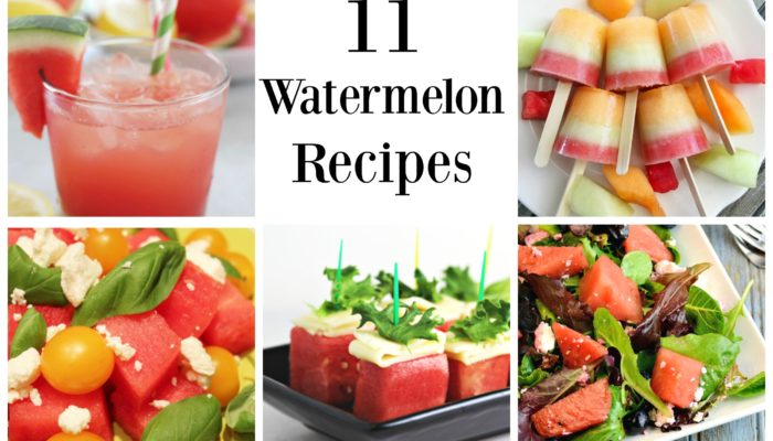 Taste of Summer – Watermelon Recipes