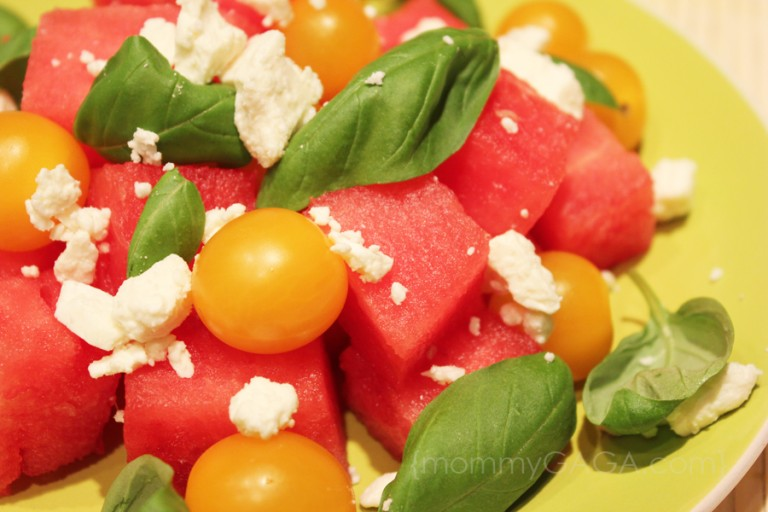 Hony and Lime - Watermelon-Tomato-Summer-Salad-768x512