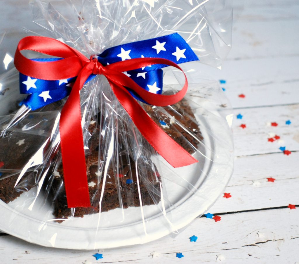 4th if July Brownies
