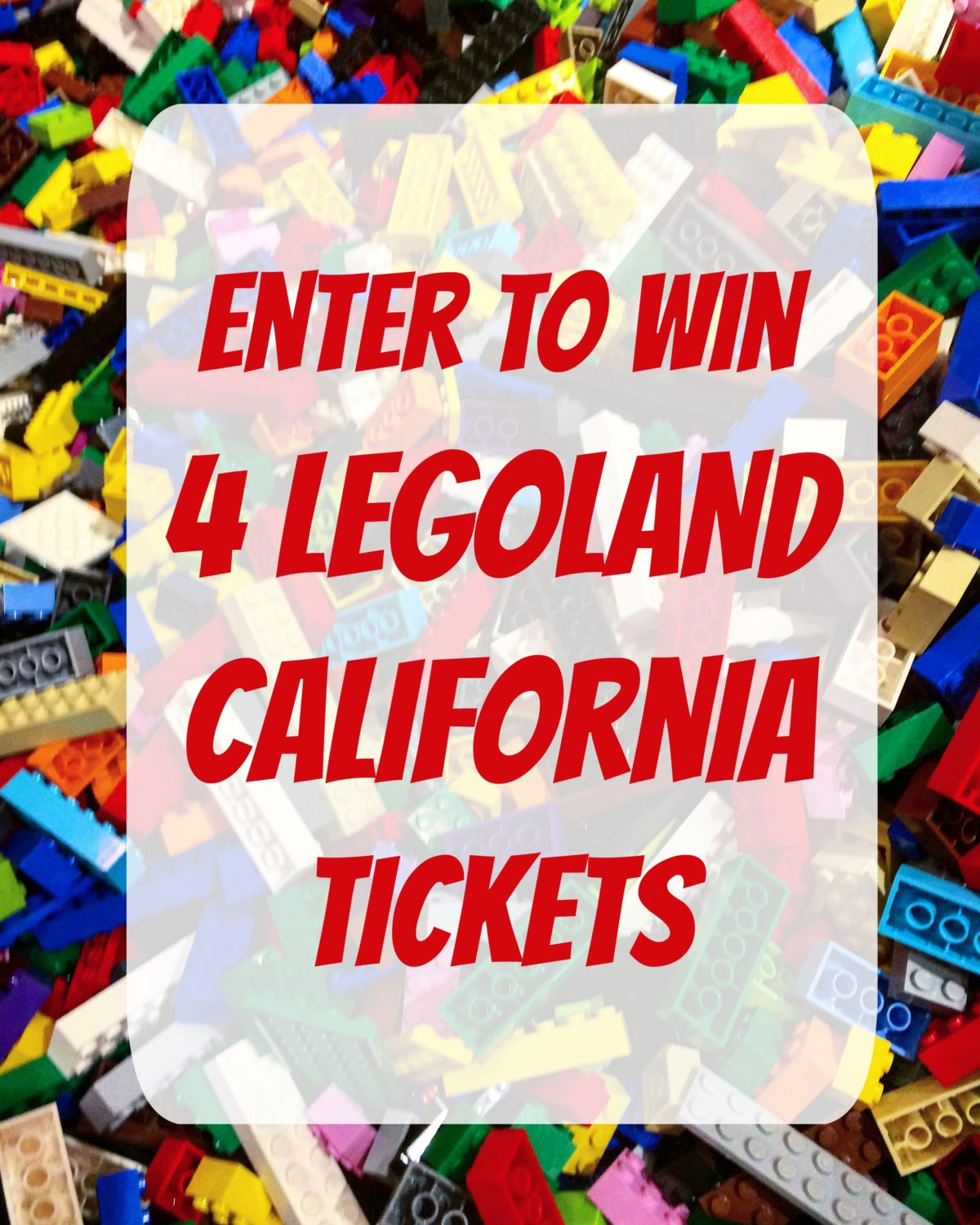 Legoland CA ticket giveaway