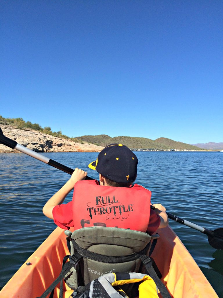 kayaking-with-my-son