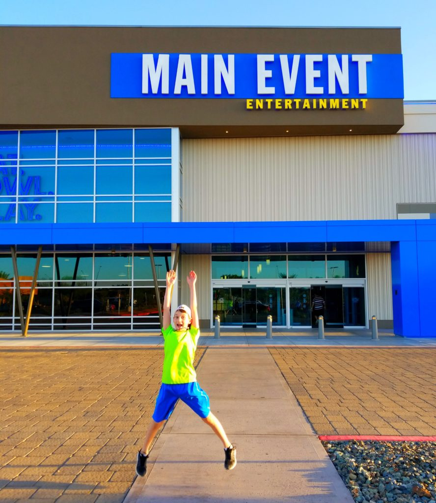 Family Night Out – Our Visit to Main Event