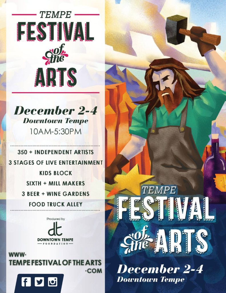 Tempe Festival of the Arts, December 2nd-4th