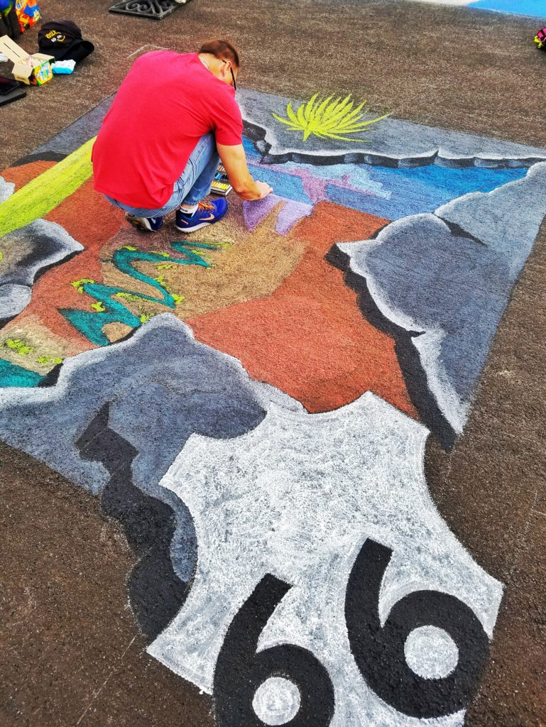 Tempe Festival of Arts Chalk Art