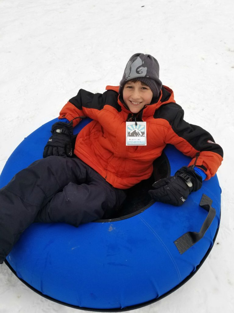 Snow Tubing at Flagstaff Snow Park
