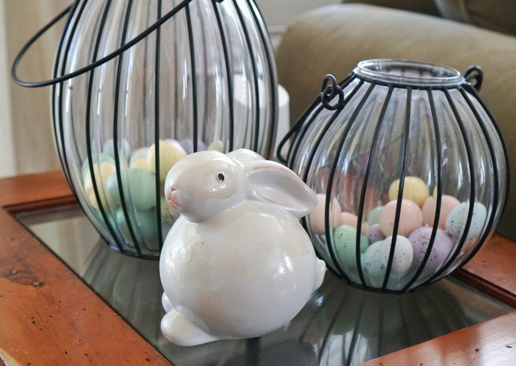 Easter decor rabbit