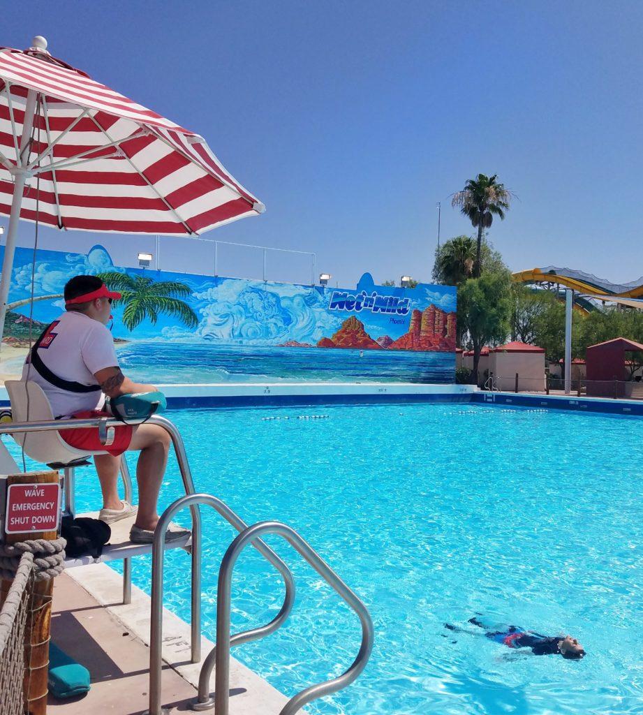Wet n Wild wave pool