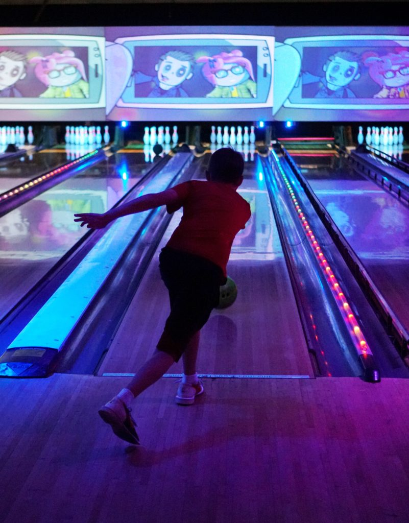 Bowling things to do with kids