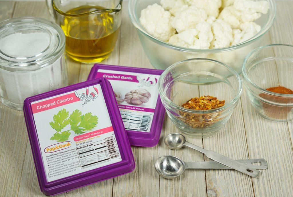 Chipotle Garlic Roasted Cauliflower 1
