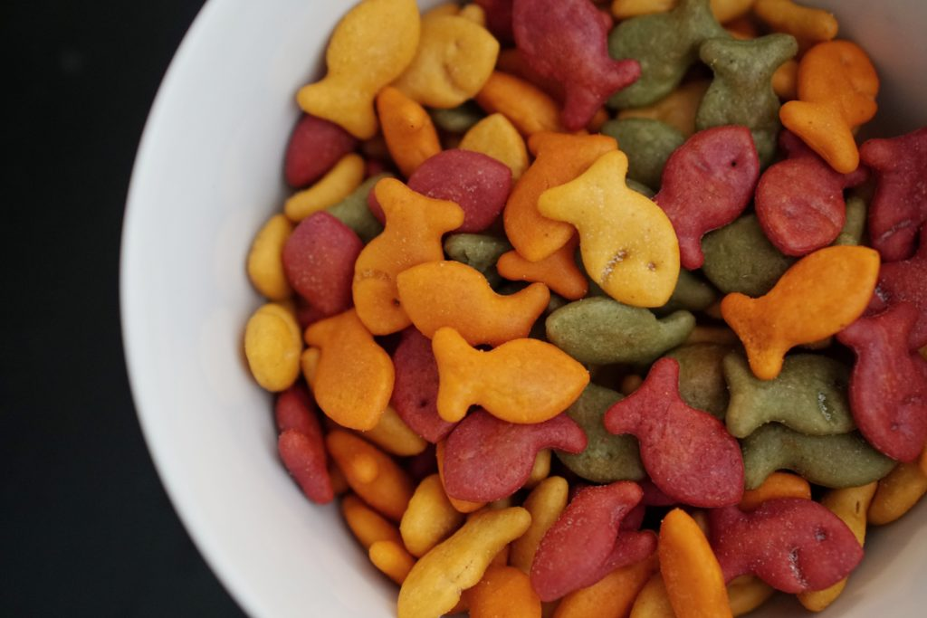Plant Your Vote Goldfish Crackers