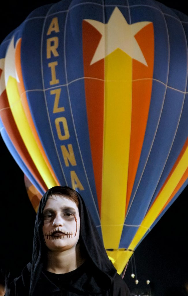 Scottsdale's Balloon Spooktacular [Things to do in Phoenix]