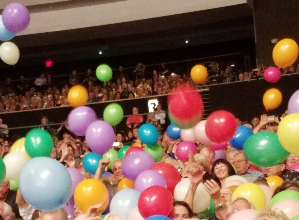 Andre Rieu concert balloons