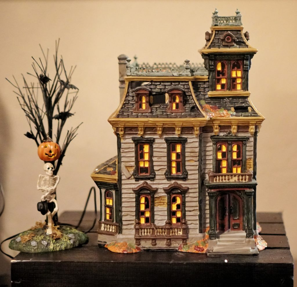 Halloween villages